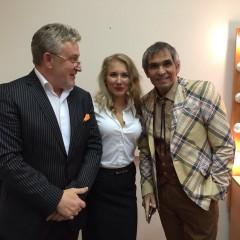 С Бари Алибасовым и адвокатом Владимиром Постанюком