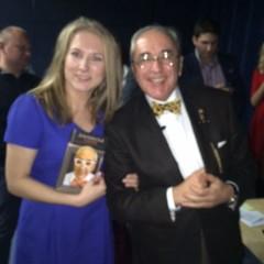 Со звездным адвокатом Александром Добровинским на презентации книги