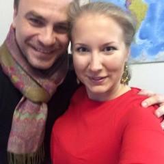 С экс-вокалистом На-На Павлом Соколовым