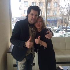 Встреча с певцом Авраамом Руссо